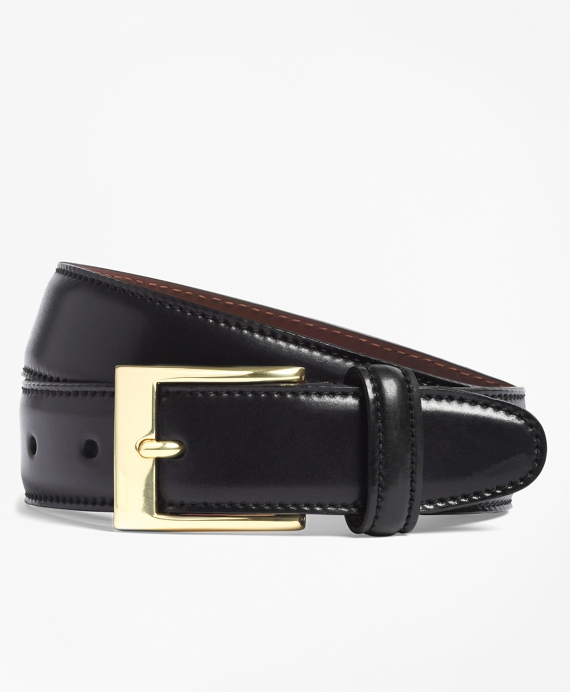 Cordovan Belt Black