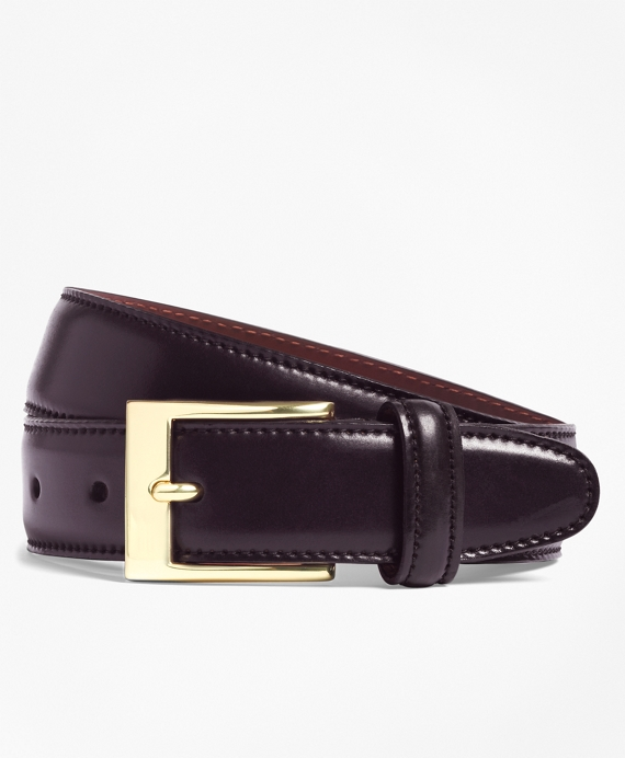 Cordovan Belt Burgundy