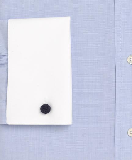 Light blue spread collar dress shirt