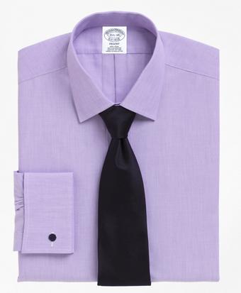 Non-Iron Regent Fit Spread Collar French Cuff Dress Shirt
