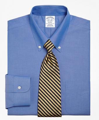 Non-Iron Regent Fit Button-Down Collar Dress Shirt