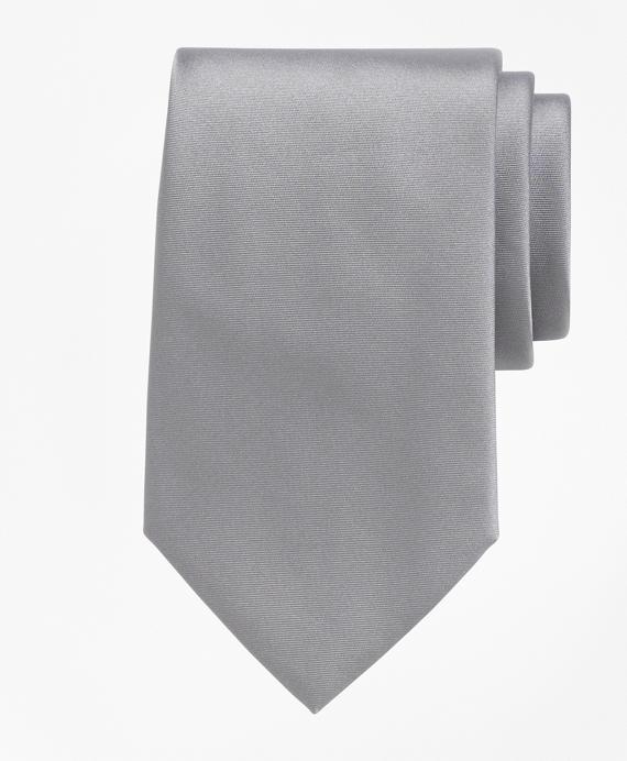Tuxedo Necktie Grey