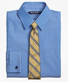 Non-Iron Supima® Pinpoint Cotton French Cuff Dress Shirt