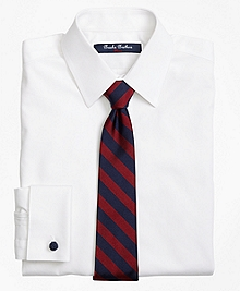 Non-Iron Supima® Pinpoint Cotton French Cuff Dress Shirt