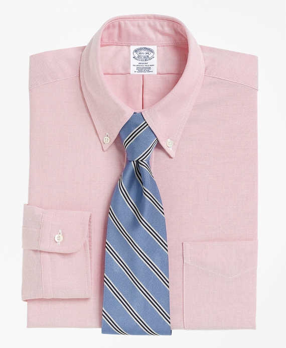 Regent Fit Button-Down Collar Dress Shirt Pink