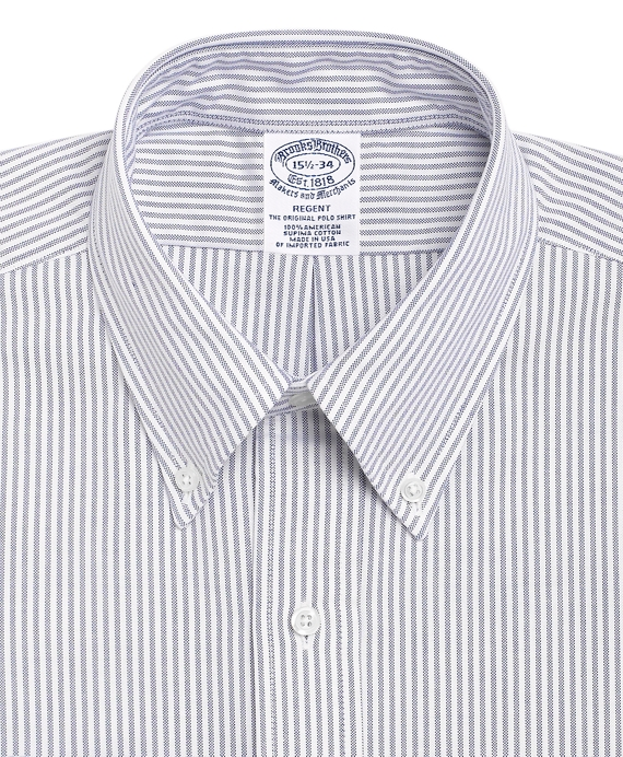 Men's Slim Fit Striped Dress Shirt | Brooks Brothers