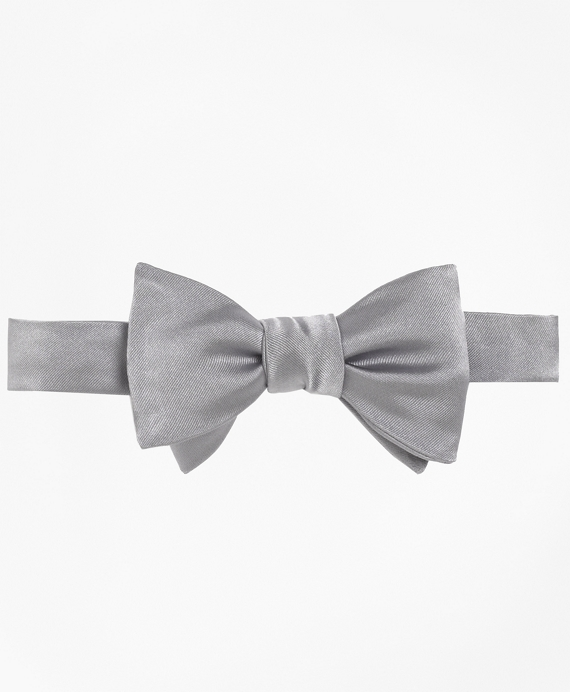 Butterfly Self-Tie Bow Tie Grey