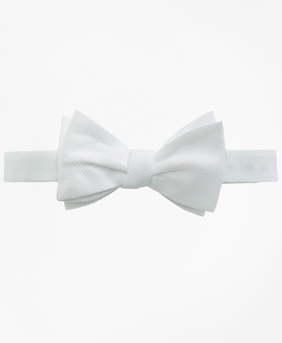Formal Bow Tie White