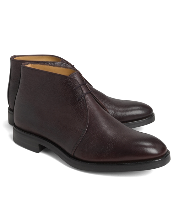 234ef940a2902 Peal   Co.® Pebble Grain Chukka Boots Brooks Brothers on PopScreen