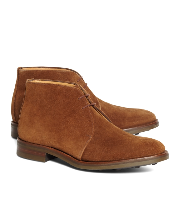 Peal & Co.® Brown Suede Chukka Boots Brown