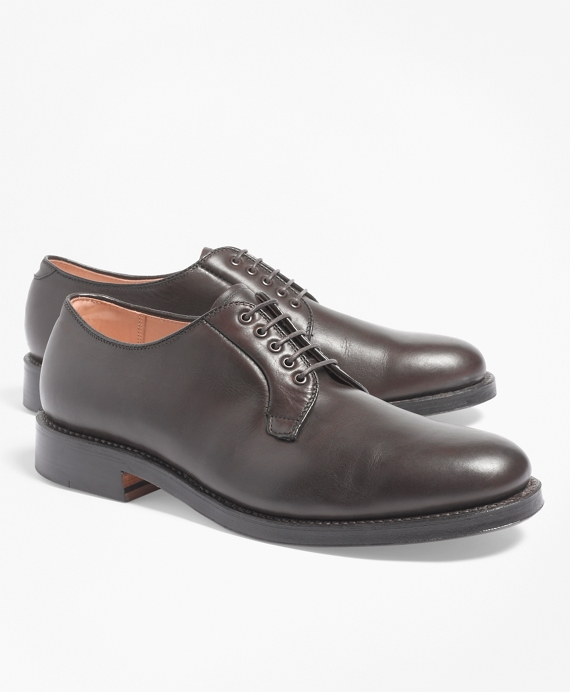 Calfskin Plaintoe Bluchers Brown