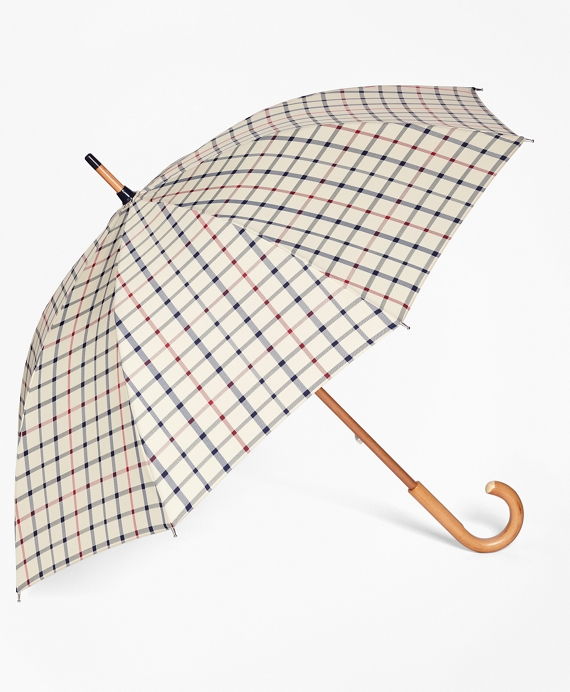 Tattersall Umbrella Camel