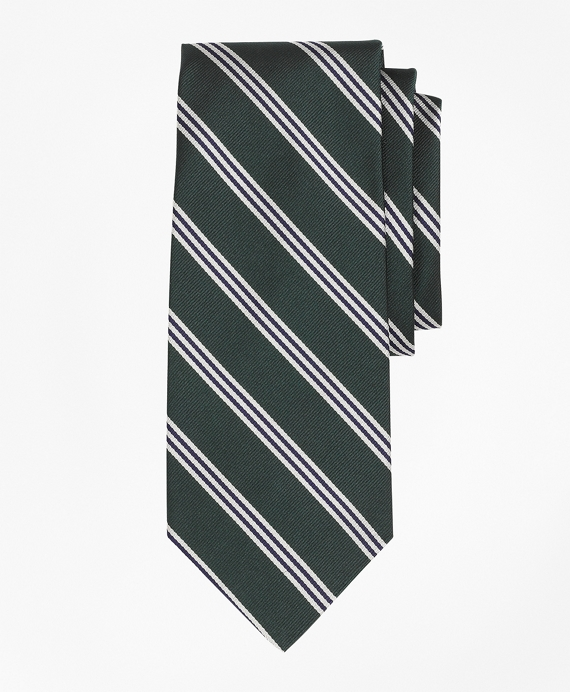 Mini BB#1 Repp Tie Green-Navy
