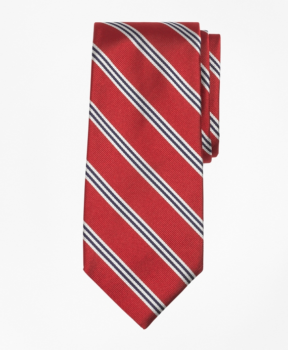 Mini BB#1 Repp Tie Red-White