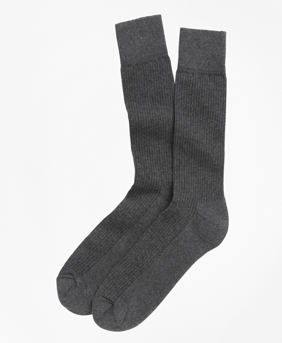 Cotton Cushion Sole Socks Grey