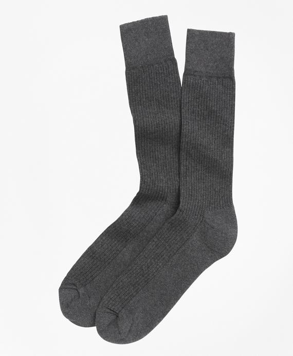 Cotton Cushion Sole Socks Grey