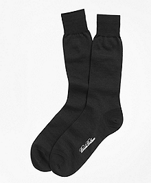 Merino Wool Mini Dot Crew Socks