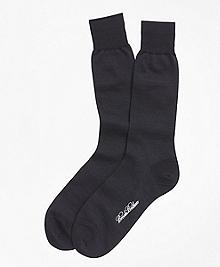 Merino Wool Mini Dot Crew Socks