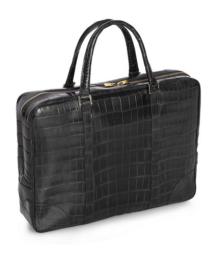Soft Alligator Briefcase