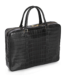 Soft Alligator Briefcase