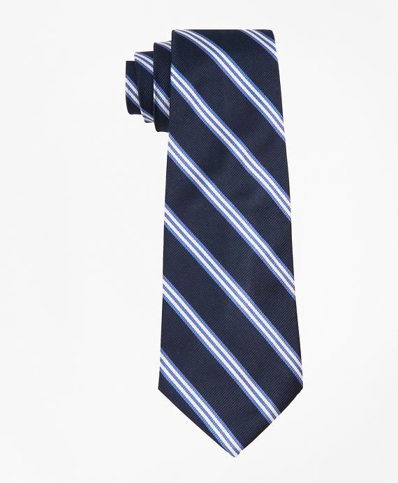 BB#1 Stripe Tie Navy
