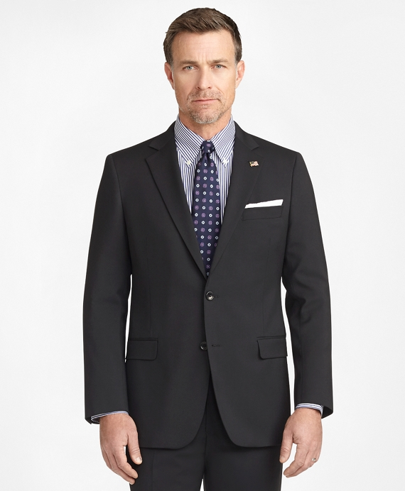 Fitzgerald Fit Two-Button 1818 Suit Black