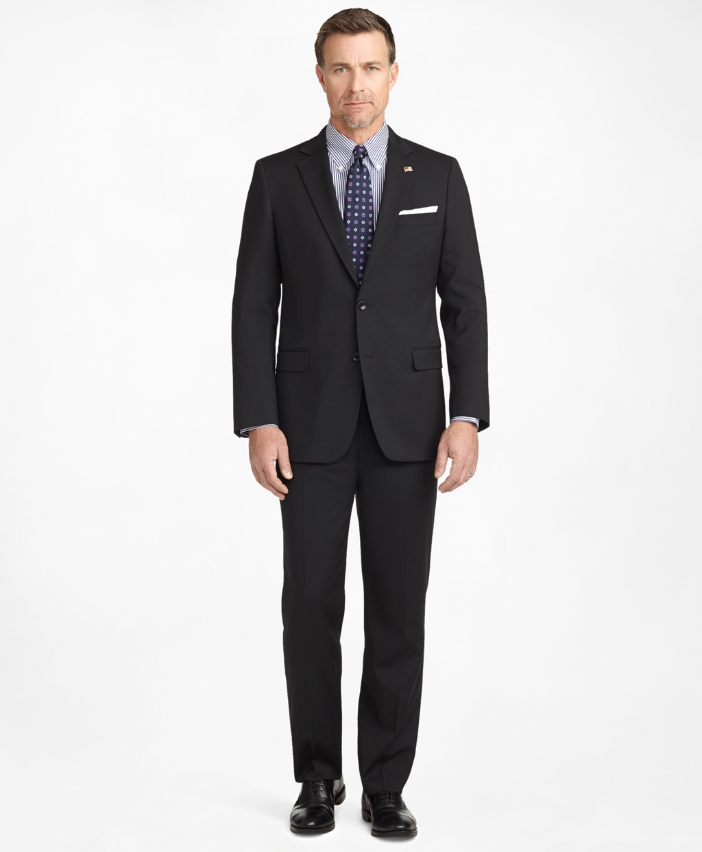 Men's Fitzgerald Fit Two-Button 1818 Suit   Brooks Brothers
