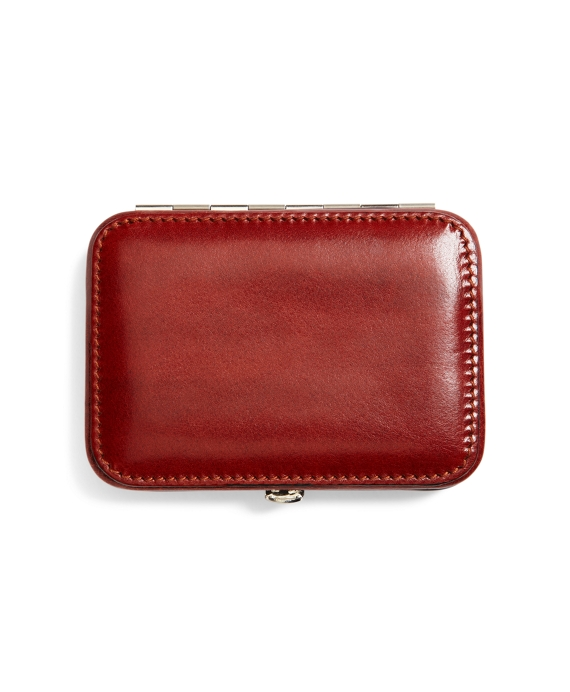 Leather Business Card Case British Tan