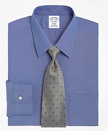Non-Iron Regent Fit Point Collar Dress Shirt