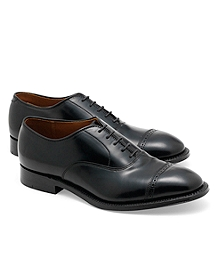 Cordovan Perforated Captoes