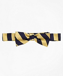 Brooks Brothers | Boys | Tie Collection | Guard Striped Bow Tie