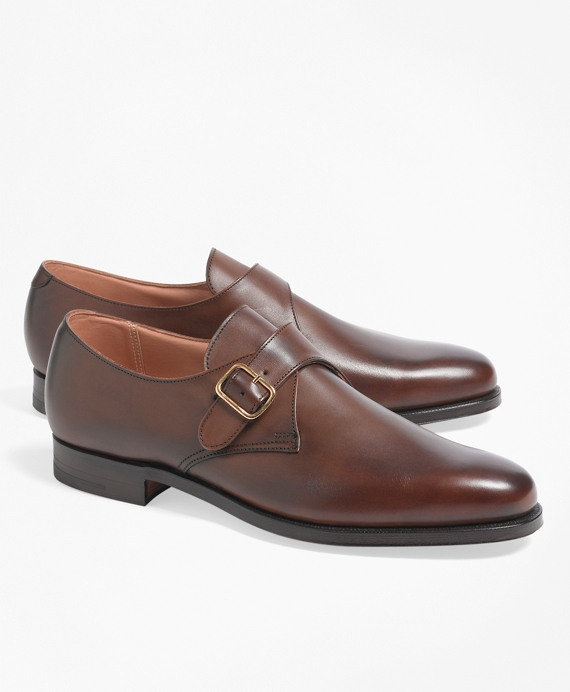 Peal & Co.® Monk Straps Brown
