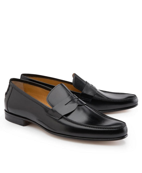 Lightweight Leather Penny Loafers