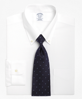 Non-Iron Regent Fit BrooksCool® Button-Down Collar Dress Shirt