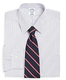 Non-Iron Regent Fit Pencil Stripe Dress Shirt