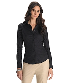 Petite Non-Iron Tailored Fit Dress Shirt