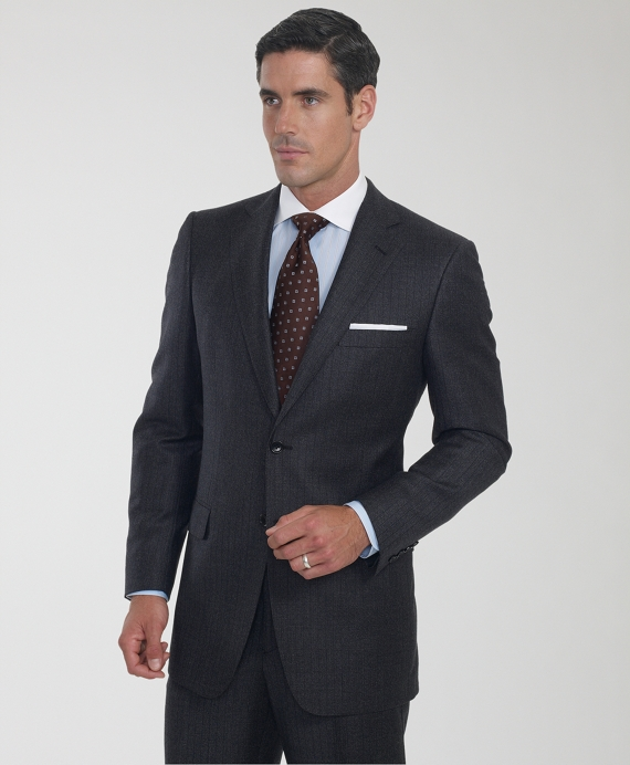 Regent Micro Stripe 1818 Suit Black