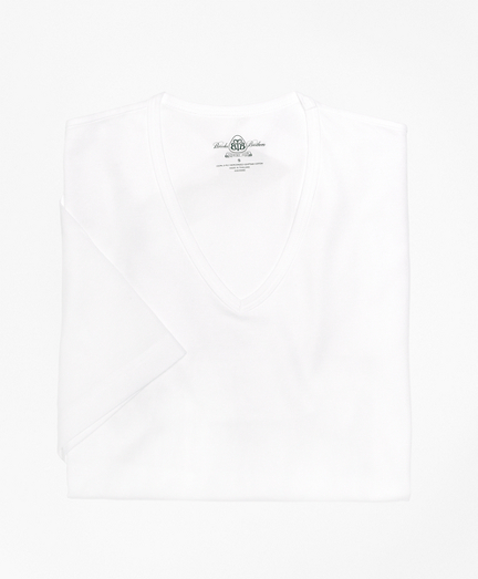 Country Club Mercerized Cotton V-Neck
