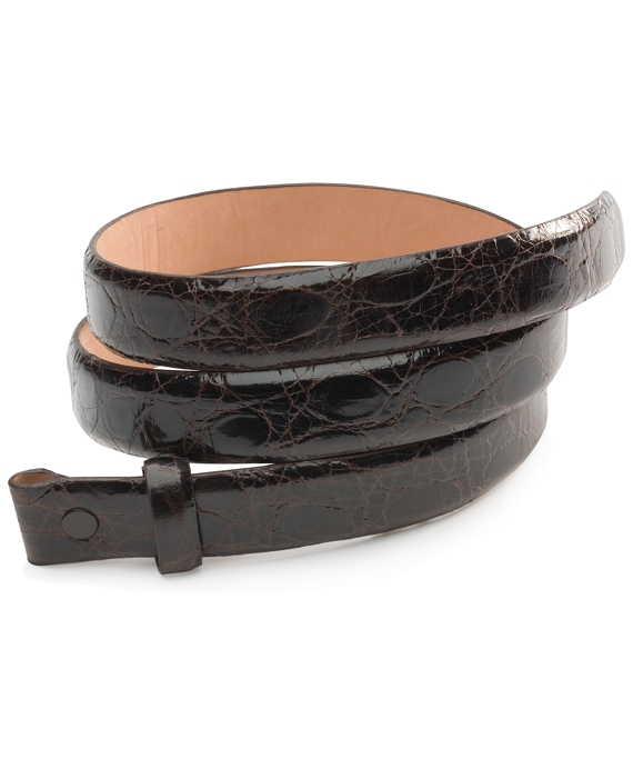 Alligator Strap Brown