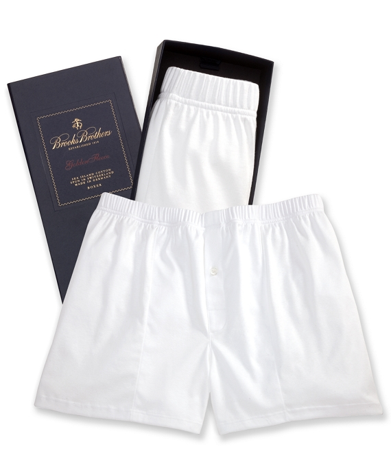 Sea Island Boxer White