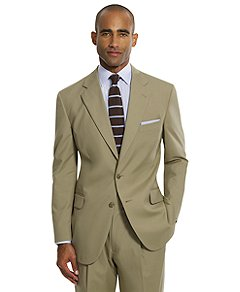Brooks Brothers | Men | Summer Suits | BrooksCool® Two-Button Poplin Suit