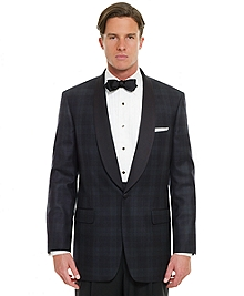 Black Watch Shawl Collar Dinner Jacket