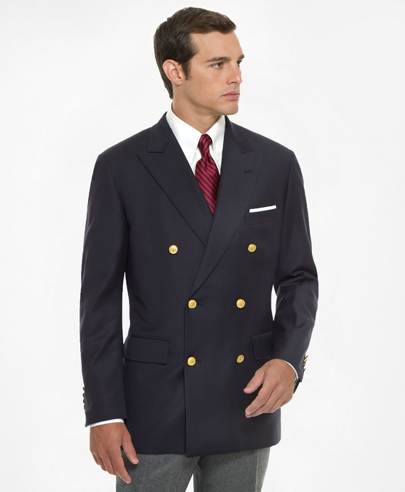 Country Club Double-Breasted Navy Blazer Navy