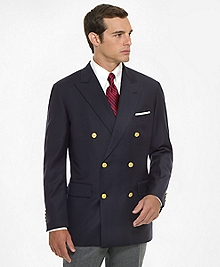 Country Club Double-Breasted Navy Blazer