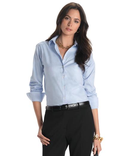Petite Non-Iron Classic-Fit Dress Shirt