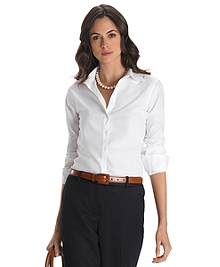 Petite Non-Iron Classic Fit Dress Shirt