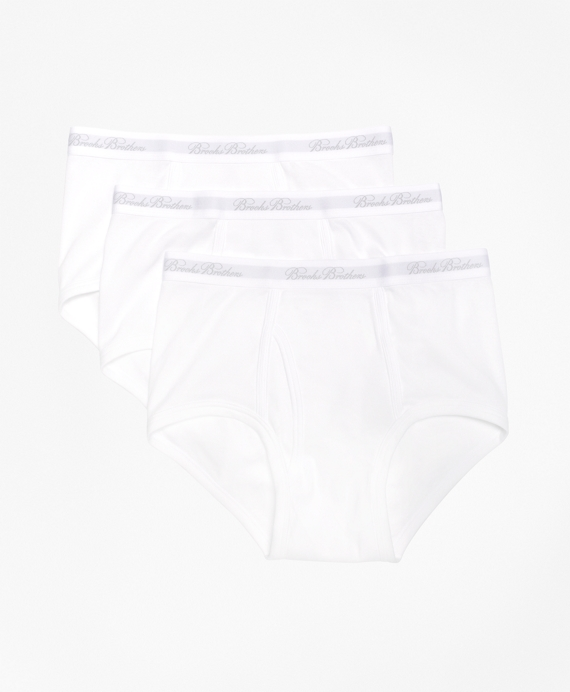 Supima® Cotton Brief - Three Pack White