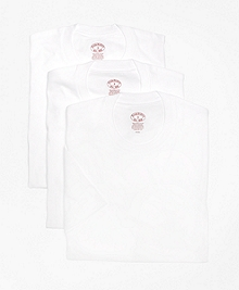 Supima® Cotton Crewneck Undershirt - Three Pack