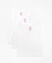 Supima® Cotton Athletic Tank Undershirt - Three Pack