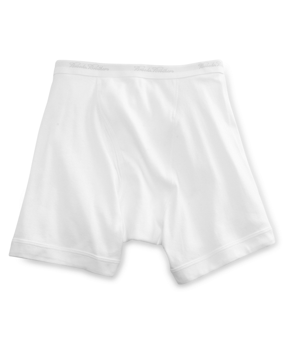 Supima® Boxer Briefs White